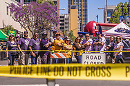 April 4, 2016:  East Village Opening Day block party, held outside Petco Park, San Diego, California, USA, organized by the East Village Association.