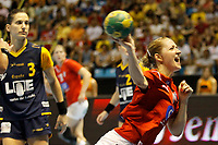20111218: SAO PAULO, BRAZIL - Player Krogshede (DNK)  at Denmark vs Spain semi final match of the XX World Handball. 3rd and 4th places<br /> PHOTO: CITYFILES