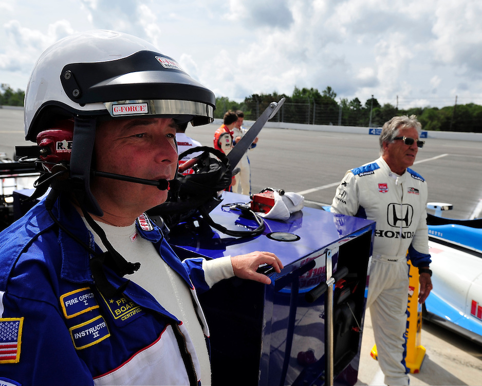 IndyCar racing returns to Pennsylvania on August 23rd, 2015, at Pocono Raceway in Long Pond. Sage Karam and Marco Andretti both of Nazareth competed in the ABC Supply 500 at Pocono Raceway. (Chris Post   lehighvalleylive.com)