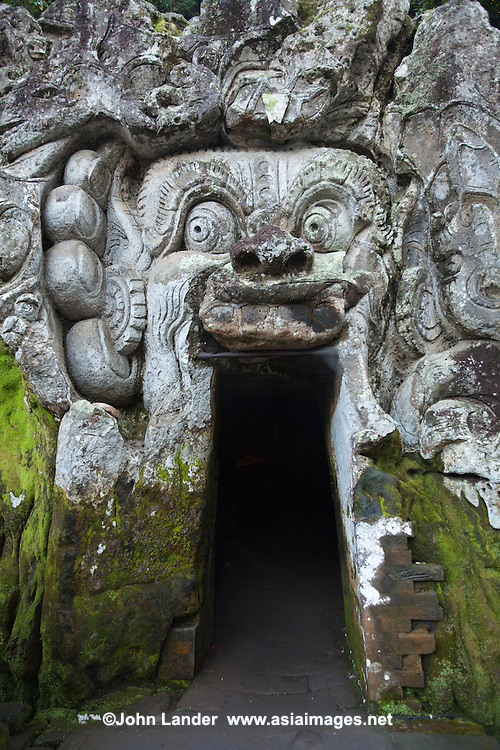 Goa Gajah is commonly known as the Elephant Cave, is located in a steep valley just outside of Ubud near the village of Bedulu.  Built at least 700 years ago the cave was rediscovered in the 1920s.