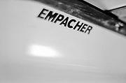 Caversham. Berkshire. UK<br /> Racked Boats, Empacher sticker on the boat side,  2016 GBRowing U23 Trials at the GBRowing Training base near Reading, Berkshire.<br /> <br /> Monday  11/04/2016 <br /> <br /> [Mandatory Credit; Peter SPURRIER/Intersport-images]