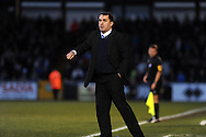 Gillingham manager Martin Allen looks on. NPower league two match, Bristol Rovers v Gillingham at the Memorial stadium in Bristol on Saturday 5th Jan 2013. pic by Andrew Orchard, Andrew Orchard sports photography,