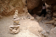 Death Valley National Park - Cairn in Golden Canyon