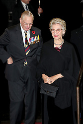 Duke and Duchess of Gloucester attend the annual Royal British Legion Festival of Remembrance at the Royal Albert Hall in Kensington, London.