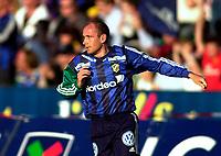 Bærum 21042003 Eliteserien i fotball Stabæk - Odd. Tryggvi Gundmundsson, Stabæk<br /> <br /> Foto: Andreas Fadum, Digitalsport