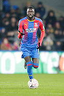 Crystal Palace midfielder Cheikhou Kouyate (8) during The FA Cup 3rd round match between Crystal Palace and Grimsby Town FC at Selhurst Park, London, England on 5 January 2019.