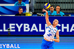 Alen Pajenk of Slovenia during volleyball match between Cuba and Slovenia in Final of FIVB Volleyball Challenger Cup Men, on July 7, 2019 in Arena Stozice, Ljubljana, Slovenia. Photo by Matic Klansek Velej / Sportida
