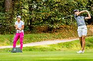 01-09-2016 Golffoto's van het Nationaal Open op de Hilversumsche Golf Club in Hilversum. Finale.  Anne van Dam