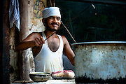 Street Food Vendor - Old Delhi, India