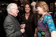 JEAN REYNAUD; LI DA KRUGER; FRANCISCA SANKSON, Relish: My Life on a Plate by Prue Leith. Hatchards. Piccadilly, London. 14 March 2012.