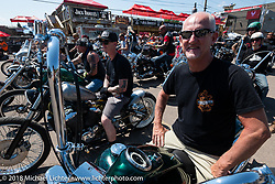 Before the Cycle Source ride on the 78th annual Sturgis Motorcycle Rally. Sturgis, SD. USA. Wednesday August 8, 2018. Photography ©2018 Michael Lichter.