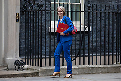 © Licensed to London News Pictures. 05/06/2018. London, UK. Chief Secretary to the Treasury Elizabeth Truss arrives on Downing Street for the Cabinet meeting. Photo credit: Rob Pinney/LNP