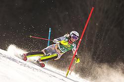 Thea Louise Stjernesund (NOR) during the Ladies' Slalom at 56th Golden Fox event at Audi FIS Ski World Cup 2019/20, on February 16, 2020 in Podkoren, Kranjska Gora, Slovenia. Photo by Matic Ritonja / Sportida