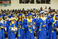 Charlotte Amalie High School 85th Annual Commencement Program at UVI Sports and Fitness Center.  14 June 2015.  © Aisha-Zakiya Boyd