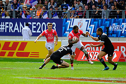 May 14, 2017 - Paris, France - VIRIMI VAKATAWA of the French team during the match against New Zealand of HSBC World Rugby Sevens Series at Jean Bouin stadium of Paris France.New Zealand beat France 14-0 (Credit Image: © Pierre Stevenin via ZUMA Wire)