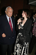 DANIEL SALEM AND SOPHIE CLAUDEL, V and A celebrates 150th anniversary. V and A. London. 26 June 2007.  -DO NOT ARCHIVE-© Copyright Photograph by Dafydd Jones. 248 Clapham Rd. London SW9 0PZ. Tel 0207 820 0771. www.dafjones.com.