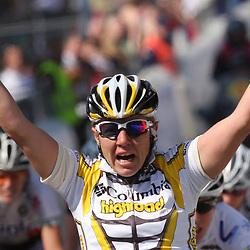 Sportfoto archief 2006-2010<br /> 2009<br /> GermanvIna Yoko Teutenberg (Columbia women) wins 6th ronde van Vlaanderen