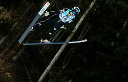 Jerneja Brecl of Slovenia soaring through the air during 1st Round at Day 1 of World Cup Ski Jumping Ladies Ljubno 2019, on February 8, 2019 in Ljubno ob Savinji, Slovenia. Photo by Matic Ritonja / Sportida