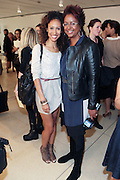 14 September 2010- New York, NY- Elaine Welteroth and Harriet Cole at The Rachel Roy Presentation held at New York Public Library for the Performing Arts, Dorothy and Lewis B. Cullman Center as part of the 2011 Mercedes-Benz Fashion Week on September 14, 2010 in New York City. Photo Credit: Terrence Jennings