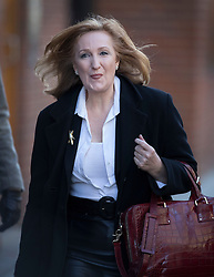 © Licensed to London News Pictures. 28/11/2016. London, UK. Suzanne Evans arrives at the Emmanuel Centre in Westminster London - before Paul Nuttall was announced as the new leader of the UK Independence Party (UKIP). Photo credit: Peter Macdiarmid/LNP