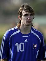 Fotball / Football<br /> International U 19 Team Tournament<br /> Norge v Slovakia 2-2<br /> Norway v Slovakia 2-2 at La Manga - Spain<br /> 04.02.2007<br /> Foto: Morten Olsen, Digitalsport<br /> <br /> Portretter Slovakia - Portraits Slovakia<br /> <br /> Lukas Denes - MFK Ruzomber.
