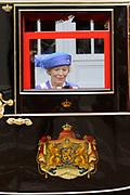 Prinsjesdag 2011 - Paleis Noordeinde Den Haag.  Op Prinsjesdag spreekt het staatshoofd, Koningin Beatrix, de troonrede uit. Daarin geeft de regering aan wat het regeringsbeleid zal zijn voor het komende jaar.<br /> <br /> Prinsjesdag (English: Prince's Day) is the day on which the reigning monarch of the Netherlands (currently Queen Beatrix) addresses a joint session of the Dutch Senate and House of Representatives in the Ridderzaal or Hall of Knights in The Hague. <br /> <br /> Op de foto/ On the Photo