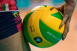 18-05-2019 GER: CEV CL Super Finals Igor Gorgonzola Novara - Imoco Volley Conegliano, Berlin<br /> Igor Gorgonzola Novara take women's title!Novara win 3-1 /  Mikasa finals ball