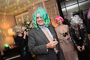 NICHOLAS COLERIDGE, Kate Reardon Tatler goodbye party. Penhouse, Claridges,London.. 13 December 2017