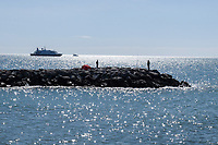 Cruise ship, Sea Dream 1, moored off Puerto Banus, Marbella, Spain, 30th April 2017, 201704303524<br /> <br /> Copyright Image from Victor Patterson, 54 Dorchester Park, Belfast, UK, BT9 6RJ<br /> <br /> t1: +44 28 9066 1296 (from Rep of Ireland 048 9066 1296)<br /> t2: +44 28 9002 2446 (from Rep of Ireland 048 9002 2446)<br /> m: +44 7802 353836<br /> <br /> e1: victorpatterson@me.com<br /> e2: victorpatterson@gmail.com<br /> <br /> The use of any of my copyright images is subject to my Terms & Conditions. It is IMPORTANT that you familiarise yourself with them. They are available at my website, victorpatterson.com.<br /> <br /> None of my copyright images may be used on the Internet unless they are visibly watermarked, i.e. © Victor Patterson within the body of the image. My metadata, denoting my copyright must NOT be deleted. <br /> <br /> Web use is extra at currently recommended NUJ rates. Maximum permitted web size is<br />  400kb. <br /> <br /> Images must not be passed on to a third party - they are for the use of the authorised recipient only.