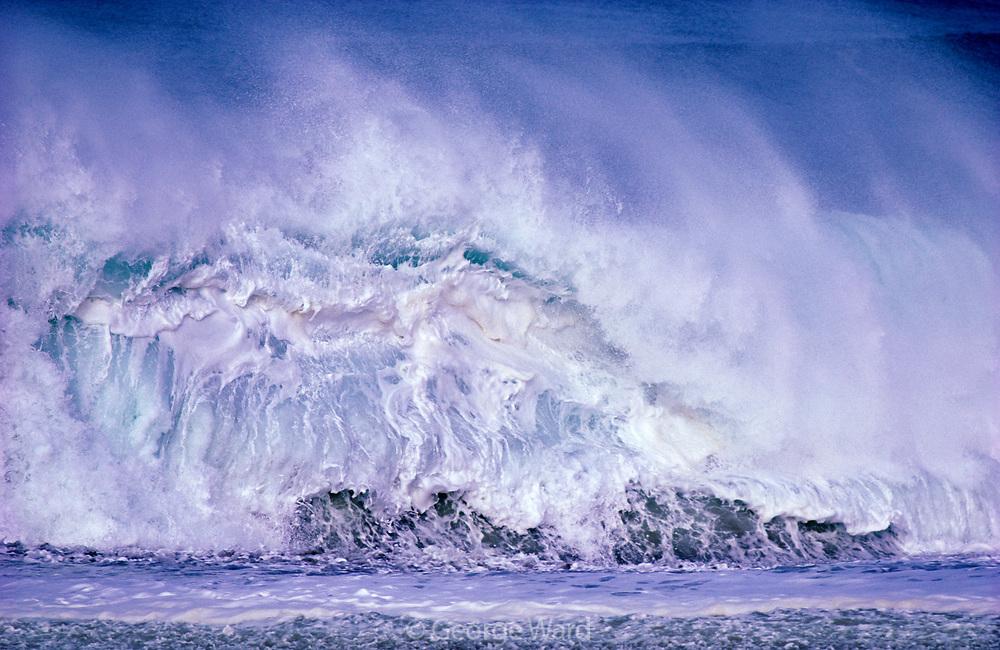 White Waveat North Beach,Point Reyes National Seashore, California