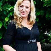 NLD/Amsterdam/20100716 - Inloop modeshow Monique de Collignon bij de AIF, Isabel Brinkman