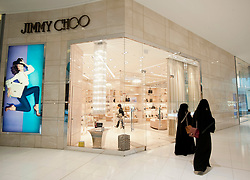Jimmy Choo boutique in Dubai Mall in Dubai United Arab Emirates UAE