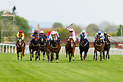 ,Powerful Dream ridden by Joason Watson and trained by Ronald Harris in the F45 Bath No Contract Required Handicap race. Spanish Star ridden by Liam Keniry and trained by Patrick Chamings in the F45 Bath No Contract Required Handicap race.  - Ryan Hiscott/JMP - 06/05/2019 - PR - Bath Racecourse- Bath, England - Kids Takeover Day - Monday 6th April 2019