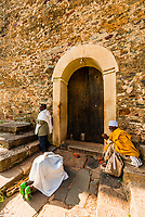 Old Church of St. Mary Zion, Axum (Aksum), Ethiopia.