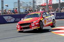 October 19, 2018 - Gold Coast, QLD, U.S. - GOLD COAST, QLD - OCTOBER 19: Scott McLaughlin in the Shell V-Power Racing Team Ford Falcon during Friday practice at The 2018 Vodafone Supercar Gold Coast 600 in Queensland on October 19, 2018. (Photo by Speed Media/Icon Sportswire) (Credit Image: © Speed Media/Icon SMI via ZUMA Press)