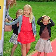 NLD/Amstelveen/20110921 - Premiere Fantasia de Musical, Prinses Maxima en kinderen Catharina-Amalia, Prinses Alexia, Ariane