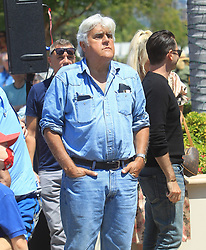 Jay Leno is seen in Los Angeles, CA.