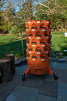 Garden Tower Ready for Spring Planting. Image taken with a Leica CL camera and 23 mm f/2 lens
