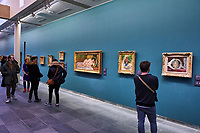 France, Paris (75), zone classée Patrimoine Mondial de l'UNESCO, les Tuileries, le musée de l'Orangerie // France, Paris, les Tuileries, museum of Orangerie