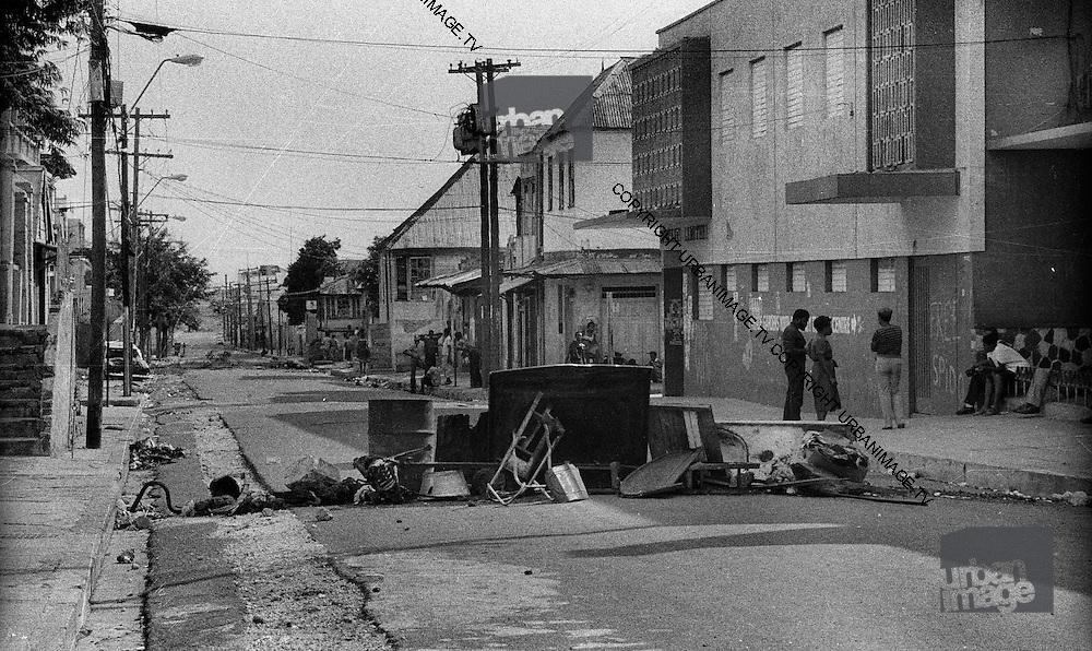 Road Block - Kingston Elections