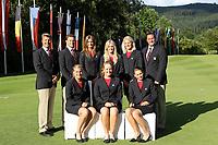 Golf<br /> 04.07.2011<br /> Foto: Gepa/Digitalsport<br /> NORWAY ONLY<br /> <br /> Amateur Team Europameisterschaft der Damen, GC Murhof, Eroeffnungsfeier, Fototermin. Bild zeigt die Mannschaft von Norge