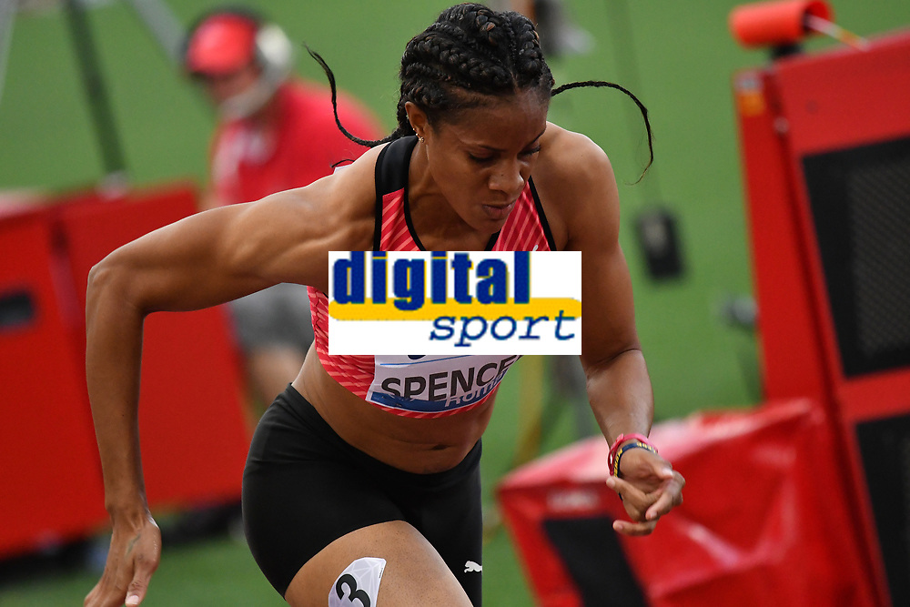 Kaliese SPENCER JAM 400m Hurdles Women <br /> Roma 03-06-2016 Stadio Olimpico <br /> IAAF Diamond League Golden Gala <br /> Atletica Leggera<br /> Foto Andrea Staccioli / Insidefoto