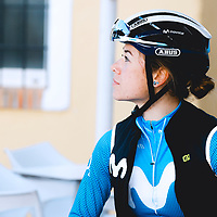 Sara Martín. 2021 Movistar Team Training Camp, Almería. 10.1.2021.
