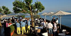 The opening ceremony drinks reception. Photo: Chris Davies/WMRT
