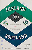 Rugby 1962 - 22/02 Five Nations Ireland Vs Scotland