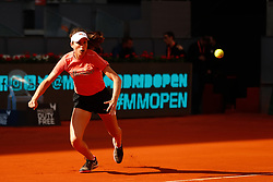 May 7, 2019 - Madrid, MADRID, SPAIN - Johanna Konta (GBR) during the Mutua Madrid Open 2019 (ATP Masters 1000 and WTA Premier) tenis tournament at Caja Magica in Madrid, Spain, on May 07, 2019. (Credit Image: © AFP7 via ZUMA Wire)