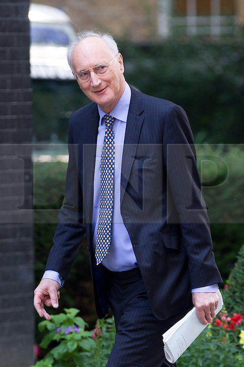 © Licensed to London News Pictures. 16/07/2013. London, UK. As the House of Commons prepares for its summer recess Sir George Young, the Chief Whip, is seen on Downing Street in London today (16/07/2013). Photo credit: Matt Cetti-Roberts/LNP