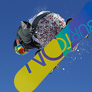 Arielle Gold, USA, in action during the Women's Half Pipe Finals in the LG Snowboard FIS World Cup, during the Winter Games at Cardrona, Wanaka, New Zealand, 28th August 2011. Photo Tim Clayton.