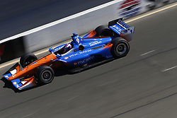 September 15, 2018 - Sonoma, California, United Stated - SCOTT DIXON (9) of New Zealand takes to the track to practice for the Indycar Grand Prix of Sonoma at Sonoma Raceway in Sonoma, California. (Credit Image: © Justin R. Noe Asp Inc/ASP via ZUMA Wire)