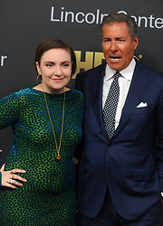 Lena Dunham and honoree, Chairman & CEO of HBO Richard Plepler attending the 2018 Lincoln Center American Songbook gala honoring HBO's Richard Plepler at Alice Tully Hall, Lincoln Center on May 29, 2018 in New York City, NY, USA. Photo by Dennis Van Tine/ABACAPRESS.COM